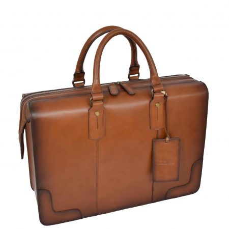 Leather Doctors Medical Briefcase Stratford Tan