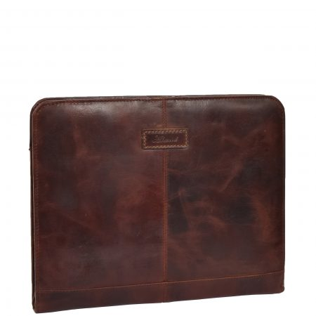 Detachable Ring Binder Documents Folder Falkirk Brown