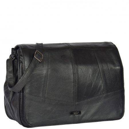 Ladies Large Size Organiser Bag HOL975 Black