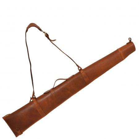 Leather Gun Slip with Shoulder Strap Carlisle Tan
