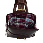 Womens Real Leather Small Size Backpack Molly Brown