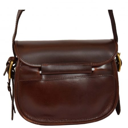 Leather Cartridge Bag 90 Rounds Capacity Neo Brown