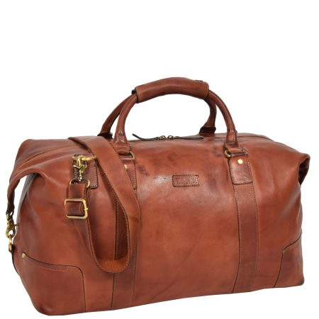 Classic Two Tone Weekend Bag Savoy Tan