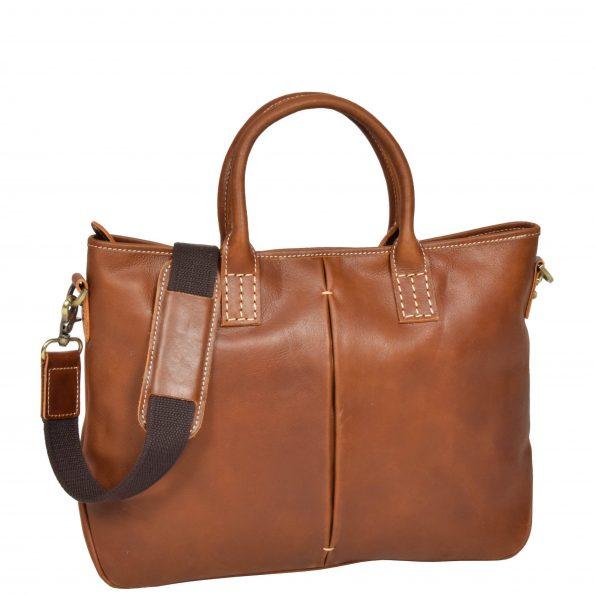Womens Leather Cross Body Handbag H8099 Tan