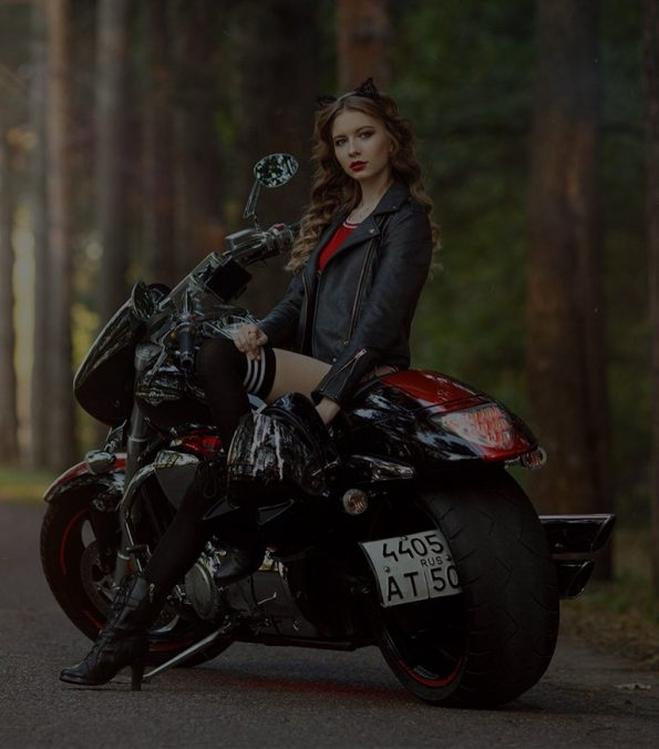 Women's Bikers Leather Jackets