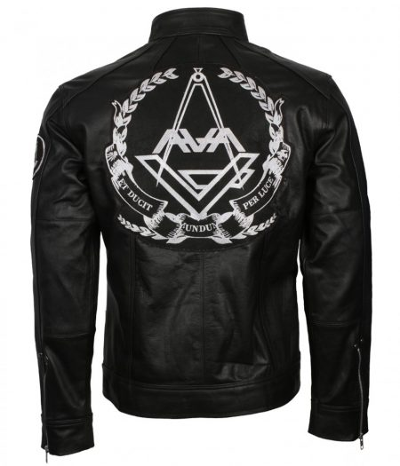 Angels and Airwaves Love Tom Delonge Black Biker Leather Jacket