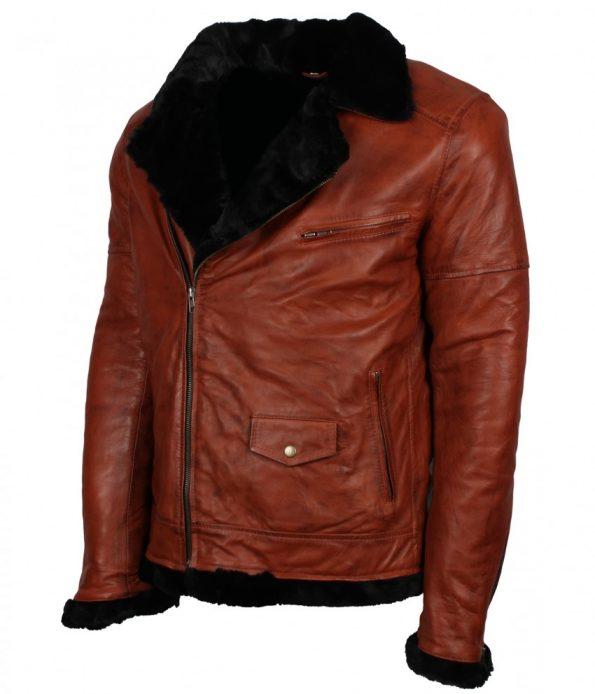 Mens-Classic-Brando-Biker-Fur-Lined-Brown-Aviator-Leather-Jacket-winter-clothing.jpg