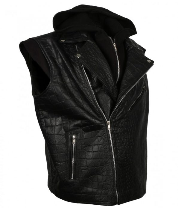 TNA-Impact-Wrestling-AJ-Style-Crocodile-Texture-Hooded-Black-Real-Biker-Leather-Vest-sexy-outfits.jpg