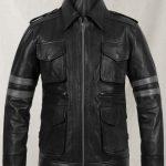 Resident Evil 6 Gaming Men's Leather Jacket