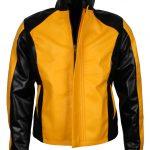 Infamous II Gaming Yello Faux Leather Jacket