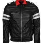 Men Black Prototype Alex Mercer Gaming Faux Leather Jacket