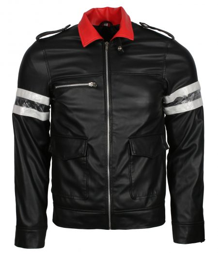Men Black Prototype Alex Mercer Gaming Faux Leather Jacket