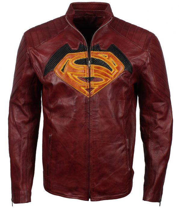 smzk_2905-Mens-Superman-Maroon-SuperHero-Faux-Leather-Jackets-3.jpg