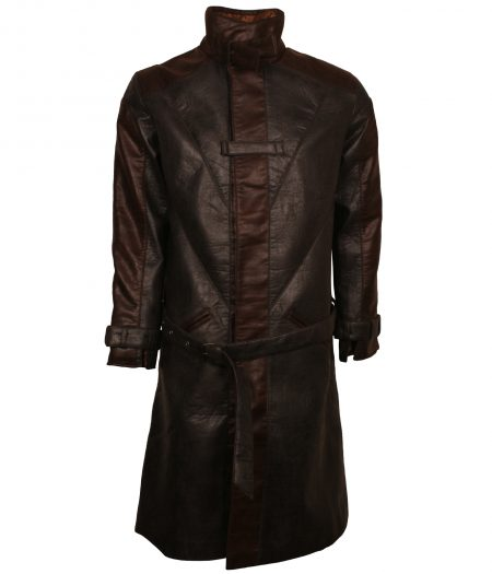 Assasin Creed Brown Super Hero Leather Coat Costume