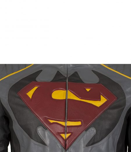 Batman Vs Superman Dawn Of Justice Grey Leather Jacket 3