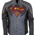 Batman Vs Superman Dawn Of Justice Grey Leather Jacket 3