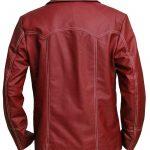 Brad Pitt Fight Club Tyler Durden Leather Coat Jacket