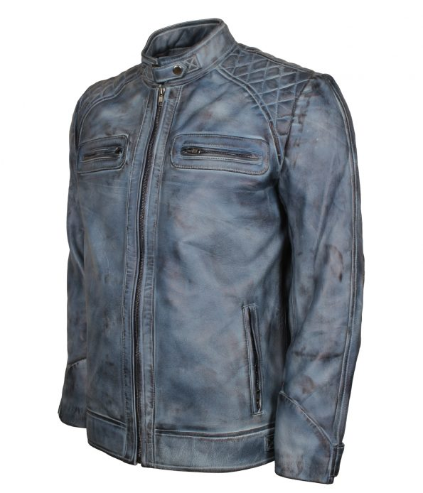 smzk_3005-Classic-Men-Cafe-Racer-Blue-Waxed-Biker-Leather-Jacket3.jpg