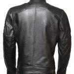 David Beckham Quilted Black Biker Jacket