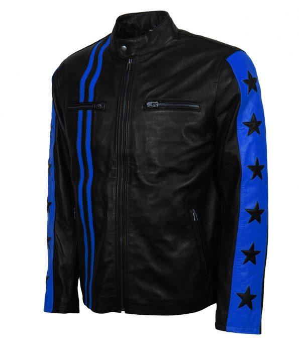smzk_3005-Driver-San-Francisco-Blue-Star-Striped-Biker-Leather-Jacket3.jpg