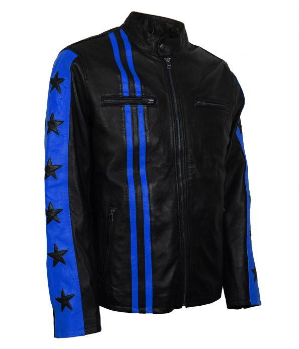smzk_3005-Driver-San-Francisco-Blue-Star-Striped-Biker-Leather-Jacket4.jpg