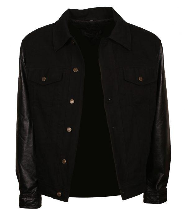 Elvis Presley Black Designer Leather Jacket
