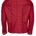 Elvis Presley Red Rockstar Leather Jacket