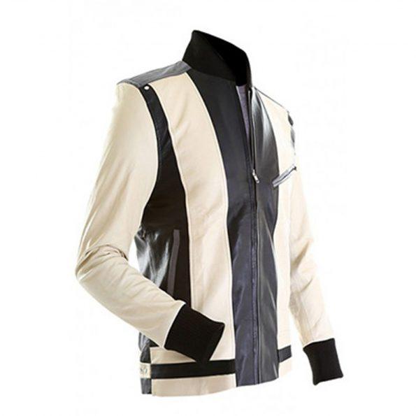 Ferris Bueller Days Off White Leather Jacket