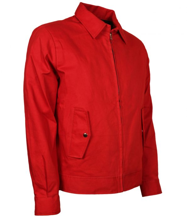 James Dean Rebel With Out A Cause Men Red Cotton Jacket costume cosplay