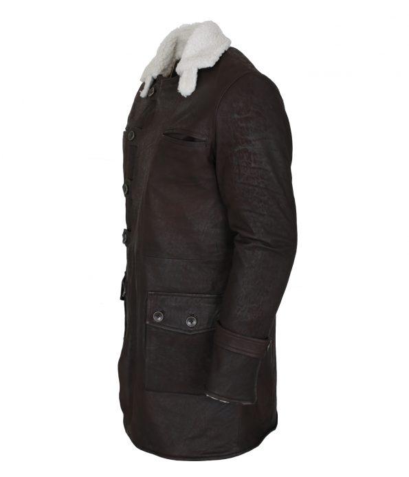 Men Bane Coat Dark Brown