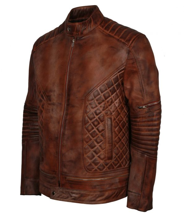 smzk_3005-Men-Bomber-Diamond-Quilted-Brown-Waxed-Leather-Jacket4.jpg
