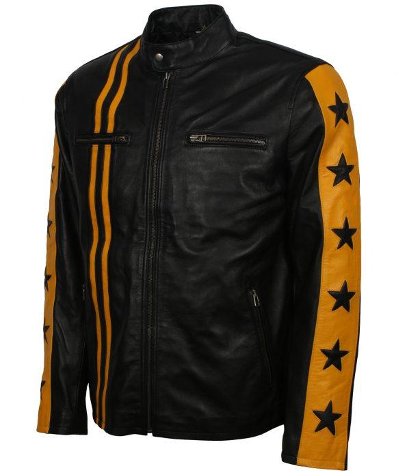 smzk_3005-Men-Driver-San-Francisco-Yellow-Stripe-Black-Biker-Leather-Jacket4.jpg