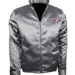 Men Icy Hot Silver Jacket