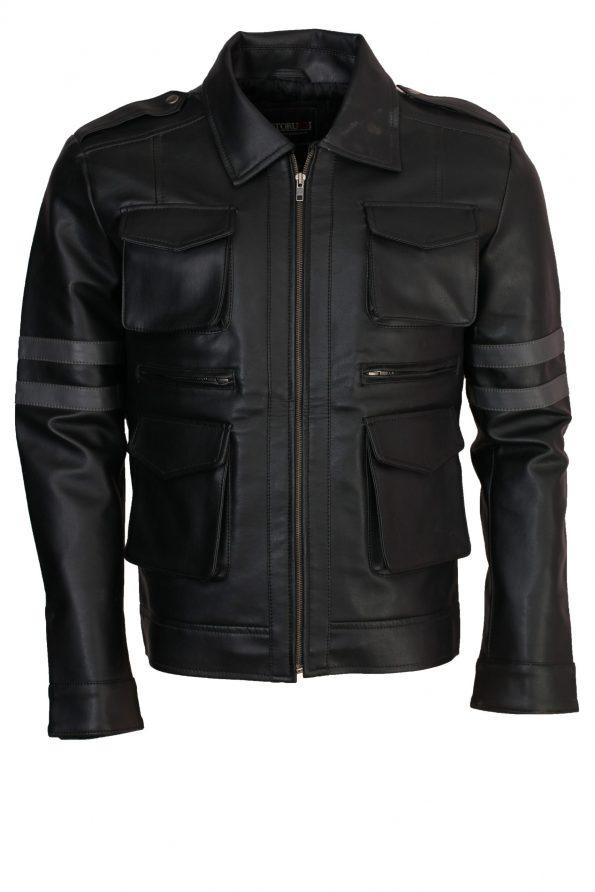 smzk_3005-Men-Resident-Evil-6-Leon-Kennedy-Gaming-Black-Leather-Jacket-scaled-1.jpg