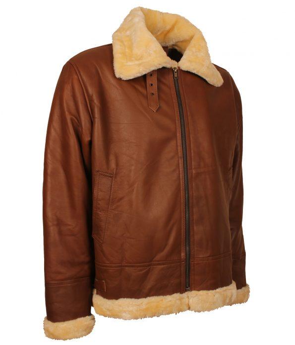 smzk_3005-Mens-Aviator-B3-Bomber-Flight-Fur-Brown-Leather-Jacket-navy-jacket.jpg
