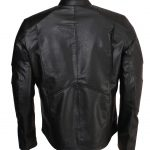 Mens The Batman Black superhero Leather Jacket