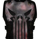 Punisher Season II Bloody Black Leather Vest