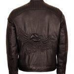 Road Rebel Designer Brown Leather Motorcyle Leather Jacket