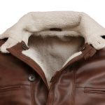 The Dark Knight Rises Bane Furr Dark Brown Leather Coat