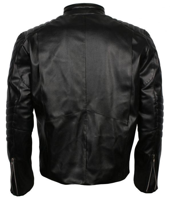 The Punisher Skull Black Leather Jacket