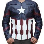 Captain America Avengers Endgame Civil Leather Jacket