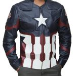 Captain America Avengers Endgame Civil Leather Jacket