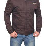Star Wars Brown Cotton Captain Cassian Jacket