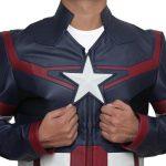 Avengers Endgame Ultron Captain America Leather Jacket