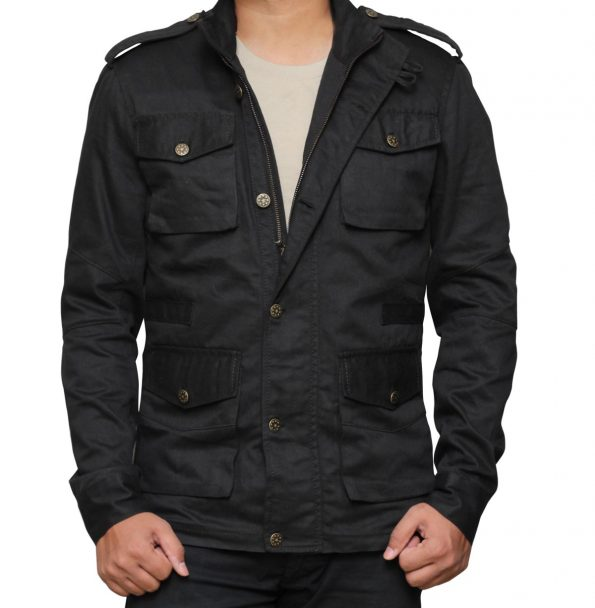 The Punisher Jon Bernthal Black Cotton Jacket