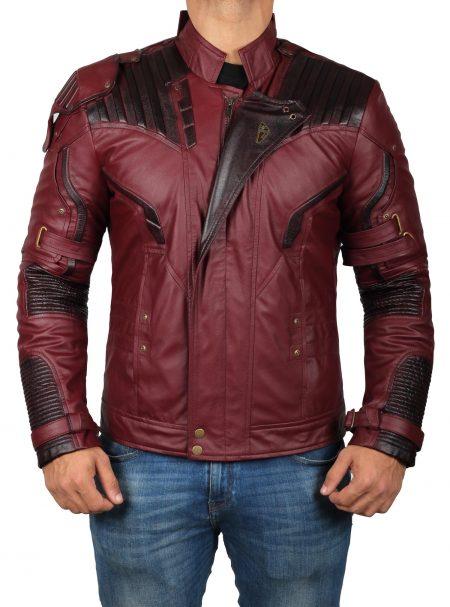Avengers Endgame Infinity Star Lord Jacket - Free Yeah Baby Shirt