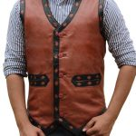 The Warriors Leather Vest