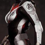 Avengers Endgame Black Widow Quantum Leather Jacket