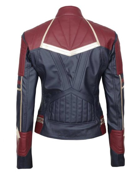 Carol Danvers Captain Marvel Jacket 2019
