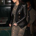 Kim Kardashian Double Breasted Jacket Blazer